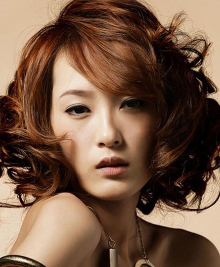 发型有千变万化的设计组合:立体
